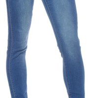 YMI Slim-Hers Medium Wash Skinny Jeans