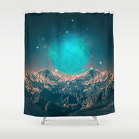 Made For Another World Shower Curtain by Soaring Anchor Designs