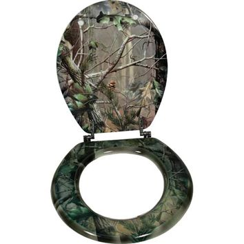 Rivers Edge Products 744 Realtree Apg Camo Toilet Seat