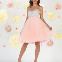 TheDressOutlet Sexy Short Prom Dress Homecoming