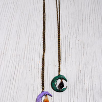 LUNA AMETHYST Necklace - Gift Boxed