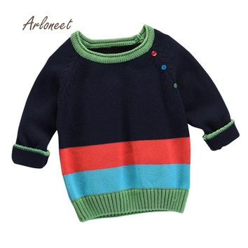 Boys Girls Warm Knitted Pullovers Sweater