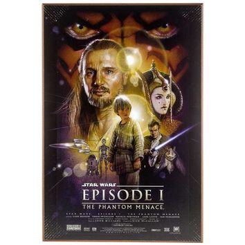Star Wars Episode I MDF Movie Poster | Hobby Lobby | 1136472