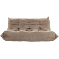 Pillow Modular Sofa, Soft Brown