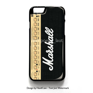 Marshall Guitar Amp for iPhone 4 4S 5 5S 5C 6 6 Plus , iPod Touch 4 5  , Samsung Galaxy S3 S4 S5 Note 3 Note 4 , and HTC One X M7 M8 Case Cover