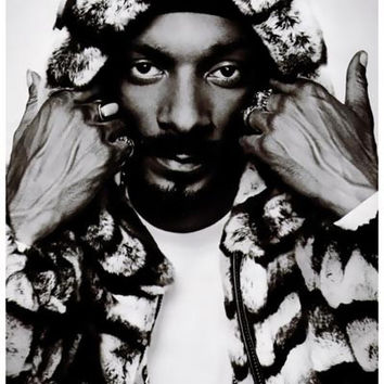 Snoop Dogg Fur Sho' Portrait Poster 11x17