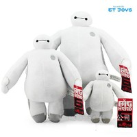 18-38cm White Big Hero 6 Baymax Stuffed Animal Plush Toys With Tag Stuffed Dolls For Children
