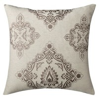 "Threshold™ Oversized Barcelona Toss Pillow - Cream (24x24"")"