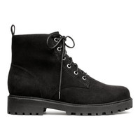H&M Pile-lined Boots $24.99