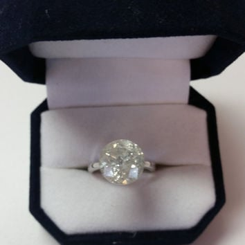 7.29 Carat F SI3 Diamond Engagement Ring 14K Solitaire Anniversary Bridal Certified Gorgeous Must See!!! Jewelry Grand Opening Sale Pricing!