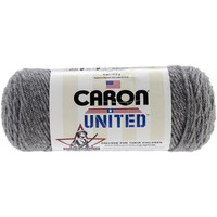 Soft Grey Heather Yarn , Caron United Yarn, Craft Supplies, Crochet, Knitting
