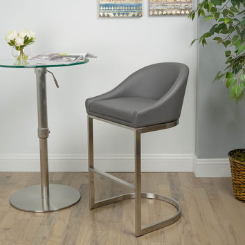 "Wade Logan Sylvester 26"" Bar Stool with Cushion"