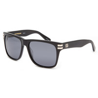 Sabre Heartbreaker Polarized Sunglasses Black Gloss/Grey Polarized One Size For Men 21584818001