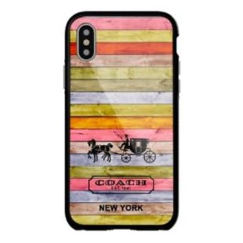 New Coach Christmas For iPhone X 8 8+ 7 7+ 6 6+ 6s 6s+ 5 5s Samsung Case
