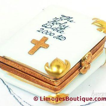 Holy Bible Limoges Boxes