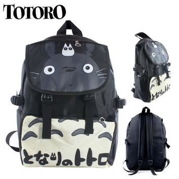 Totoro Nylon Waterproof Laptop Shoulder / Schoolbag Backpack