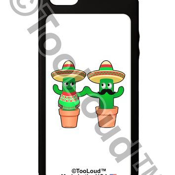 Fiesta Cactus Couple iPhone 5C Grip Case  by TooLoud