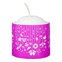 Pink Votive Candle