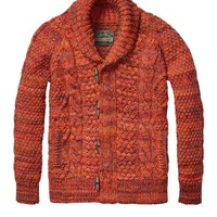 Structured Cable Cardigan - Scotch & Soda