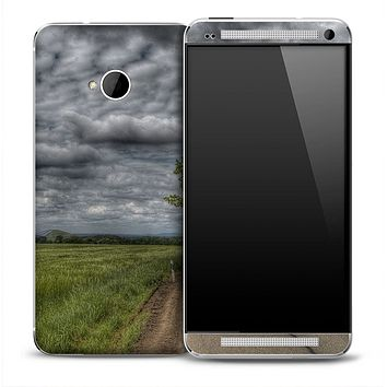 Stormy Hill Skin for the HTC One Phone