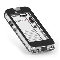 iContact Waterproof Case for iPhone 5/5S - Retail Packaging - Clear/Black