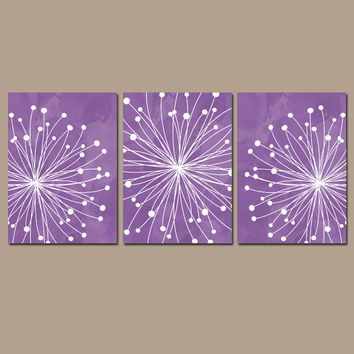 Dandelion Wall Art Canvas Or Prints Purple Watercolor Bedroom Pi Best Purple Bedroom Set Products