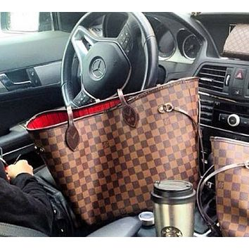 LV Louis Vuitton Popular Classic Women Shopping Bag Leather Tote Handbag Shoulder Bag Zipper Purse Wallet And Key Pouch-Coin Purse I