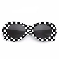 Kobain Checkered Retro Sunglasses