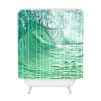 Tumble Wave Shower Curtain