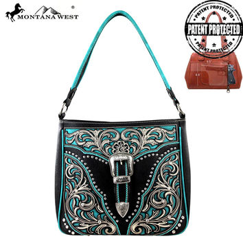 Montana West MW217G-8291 Concealed Carry Handbag