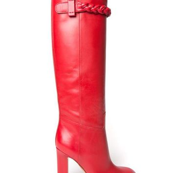 DCCKIN3 Valentino Garavani over the knee boots