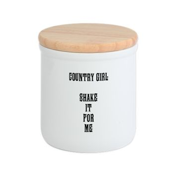 COUNTRY GIRL SHAKE IT FOR ME Cookie Jar