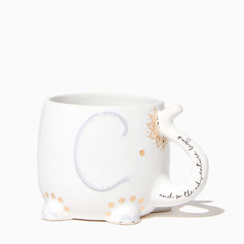 Adventure Begins Elephant Mug