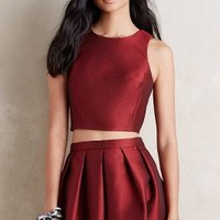 4.collective Minka Crop Top in Red Size: