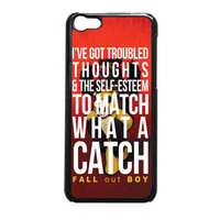 Fall Out Boy Watch A Catch Quote iPhone 5c Case