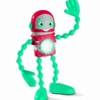 Little Tikes Action Robot Flashlight - Red-bot