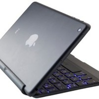 ZAGG Cover, Backlit, hinged, Bluetooth keyboard for iPad Air1 - Black