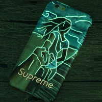 Light Up Supreme Girls Case for iPhone