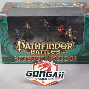 Pathfinder Battles Iconic Heroes set VIII