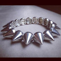 Instafashion — Instafashion Bracelet Spike 1 (Silver)