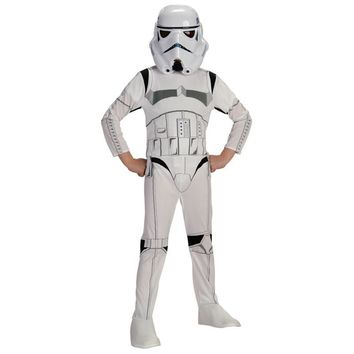 Child Stormtrooper Costume Space Station Superhero Astronaut Costumes Printed Jumpsuit Holiday Cosplay Clothing For Boys