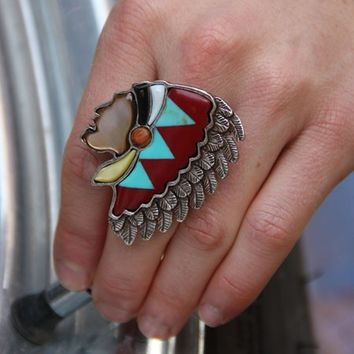 THE CHIEFTAIN RING - Junk GYpSy co.