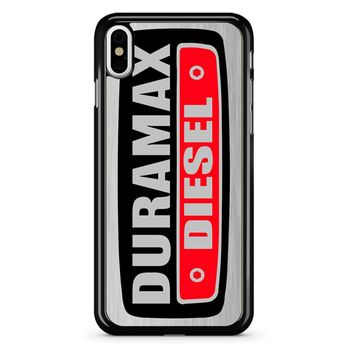 Duramax Diesel On Plate iPhone X Case