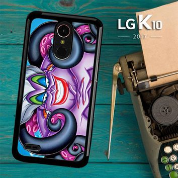 Ursula Octopus Little Mermaid Y0999 LG K10 2017 / LG K20 Plus / LG Harmony Case
