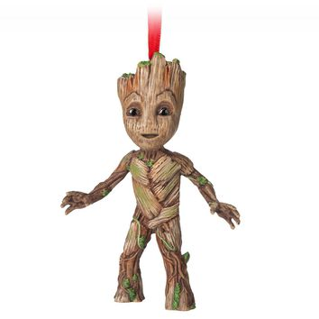 Disney 2018 Guardians of the Galaxy Groot Sketchbook Christmas Ornament New Tag