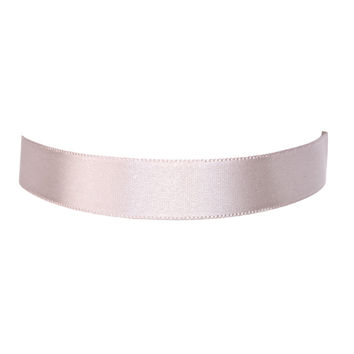 Sleek Peek Satin Choker Necklace