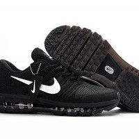 PEAPONNF1 Nike Air Max 2017. Black & White. Men's Running Shoes