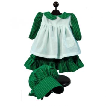 "Little House on the Prairie® American Prairie Dress Outfit, Doll Clothes Fits 18"" Girl Dolls"