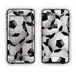 The Soccer Ball Overlay Apple iPhone 6 Plus LifeProof Nuud Case Skin Set