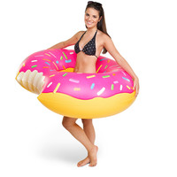 Giant Donut Pool Float - Pink